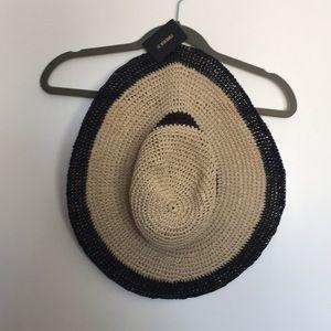 Forever 21 Floppy Summer Straw Hat